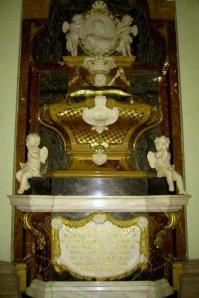 Sepulcro de Bárbara de Braganza - Iglesia de las Salesas Reales