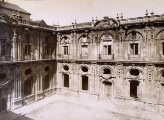 Claustro del convento de Santo Tomás (1875)