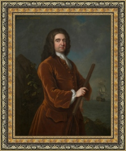 El almirante Sir Edward Vernon