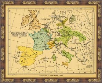 Europa tras la firma de Tratados de Utrecht y Rastatt en 1713