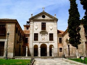 Fachada del Real Monasteroio de la Encarnación