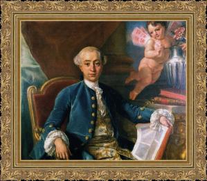 Giacomo Casanova - Anton Raphael Mengs