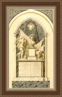 Monumento funerario de Lord Vernon en la Abadia de Westminster de Londrés