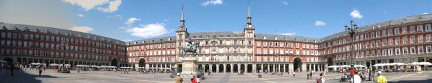 Panorámica de la Plaza Mayor