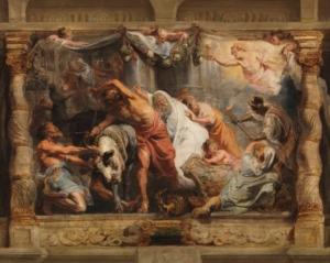El triunfo de la Eucaristía sobre la idolatría - Pedro Pablo Rubens