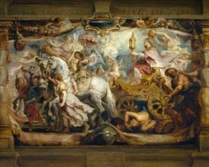 El triunfo de la Iglesia - Pedro Pablo Rubens