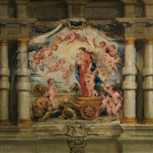El triunfo del Amor Divino - Pedro Pablo Rubens