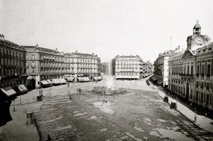 La Puerta del Sol tras las obras de Remodelación realizadas hacia 1850