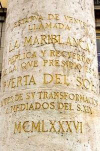 Puerta del Sol - La Mariblanca