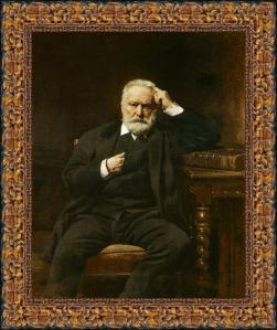 Retrato de Víctor Hugo