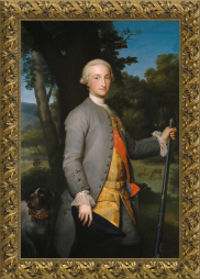 Antón Raphael Mengs, Carlos IV siendo Príncipe de Asturias