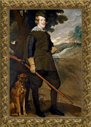 Diego Velázquez, Felipe IV cazador (1632-1634)