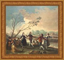 Francisco de Goya, Baile a orillas del Manzanares (1777)