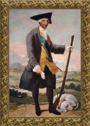 Francisco de Goya, Carlos III cazador (1786)