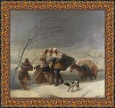 Francisco de Goya, El invierno (1786)