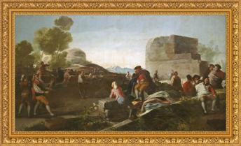 Francisco de Goya, El juego de pelota a pala (1779)