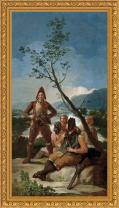 Francisco de Goya, El resguardo de tabacos (1780)