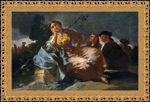 Francisco de Goya, La cita (1780)