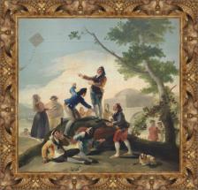 Francisco de Goya, La cometa (1778)
