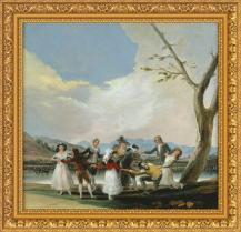 Francisco de Goya, La gallina ciega (1788)