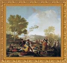Francisco de Goya, La merienda (1776)