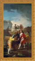 Francisco de Goya, La novillada (1777-1780)