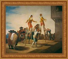 Francisco de Goya, Los zancos (1791-1792)