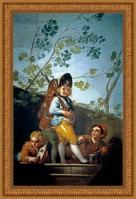 Francisco de Goya, Muchachos jugando a soldados (1779)