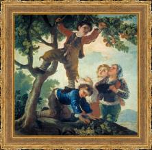 Francisco de Goya, Niños cogiendo fruta (1778)