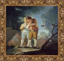 Francisco de Goya, Niños inflando una vejiga (1777-1778)