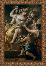 Luca Giordano, La diosa Flora (1697)