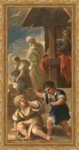 Luca Giordano, Riña e Isaac e Ismael (1695-1696)