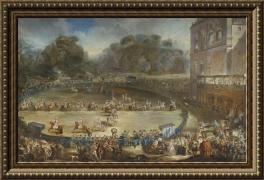 Luis Paret y Alcazar, Las parejas reales (1770)