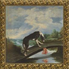 Paul de Vos, Fábula del perro y la presa (1875)