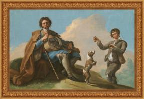 Ramón Bayeu, El ciego músico (1786)