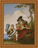 Ramón Bayeu, Majo de la guitarra (1778)