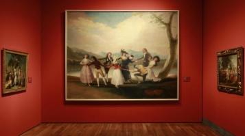 Vista de la exposición Goya en Madrid